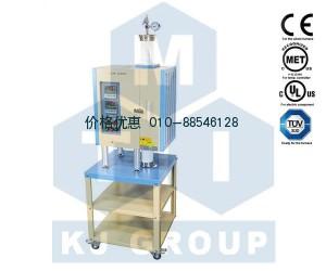 1200℃双温区开启立式炉OTF-1200X-VT-II
